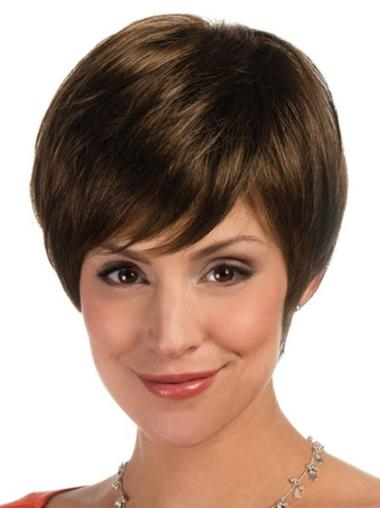 Lace Front Great Boycuts Straight Short Wigs