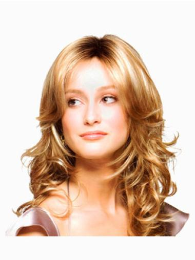Blonde Wavy Synthetic Good Long Wigs