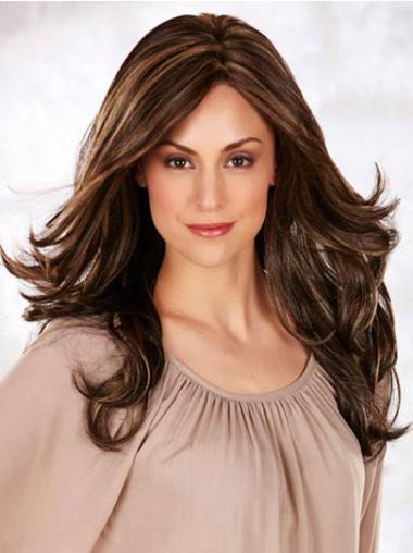 Monofilament Wavy Synthetic Convenient Long Wigs