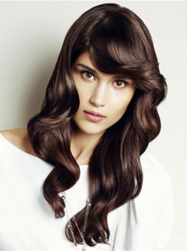 Online Auburn Wavy Synthetic Long Wigs