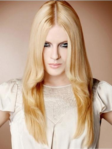 Blonde Straight Synthetic Perfect Long Wigs