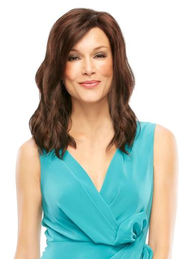 Wholesome Lace Front Wavy Shoulder Length Lace Wigs