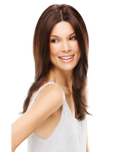 Traditiona Auburn Wavy Synthetic Wigs For Cancer