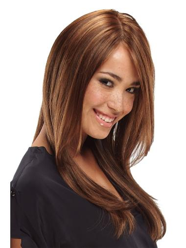 Lace Front Straight Synthetic Sleek Long Wigs