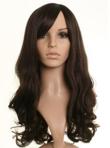 Stylish Brown Wavy Long Celebrity Wigs