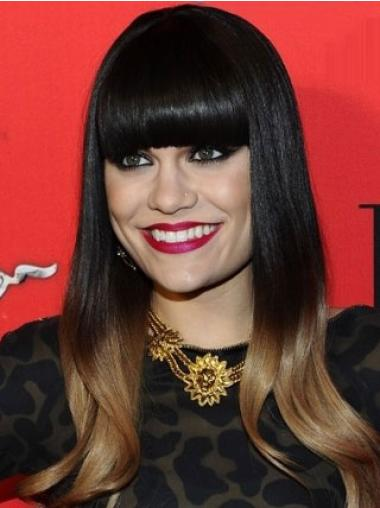 Hairstyles Black Monofilament Long Jessie J Wigs