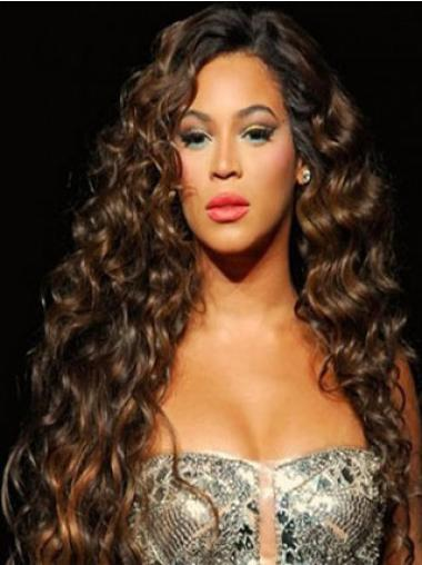 Perfect Auburn Curly Long Beyonce Wigs