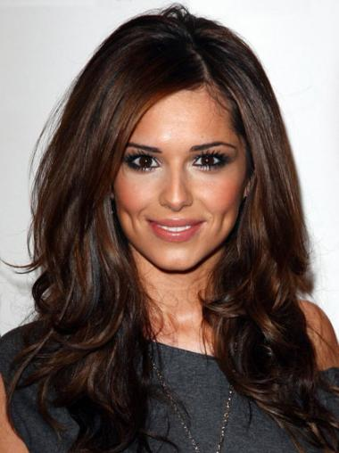 Gorgeous Monofilament Wavy Long Cheryl Cole Wigs