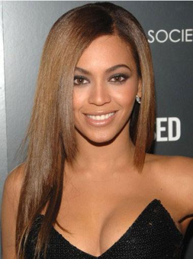 Beautiful Brown Straight Long Beyonce Wigs