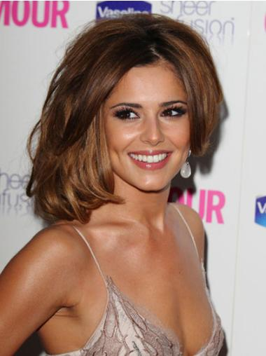 Stylish Lace Front Wavy Chin Length Cheryl Cole Wigs
