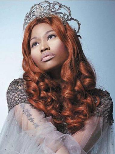 Great Auburn Curly Long Nicki Minaj Wigs