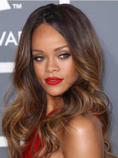 Gorgeous Lace Front Wavy Long Rihanna Wigs