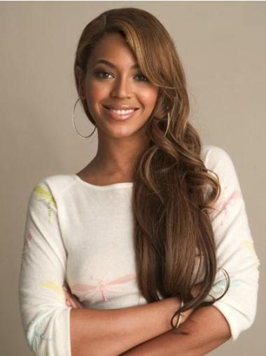 Traditiona Brown Wavy Long Beyonce Wigs