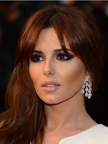 Great Auburn Wavy Long Cheryl Cole Wigs