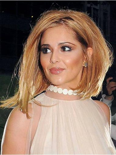 Hairstyles Auburn Straight Shoulder Length Cheryl Cole Wigs