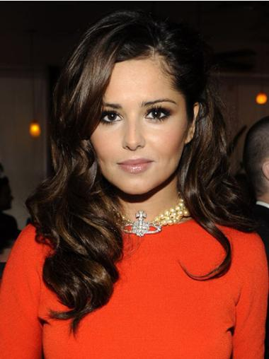 Trendy Brown Wavy Long Cheryl Cole Wigs