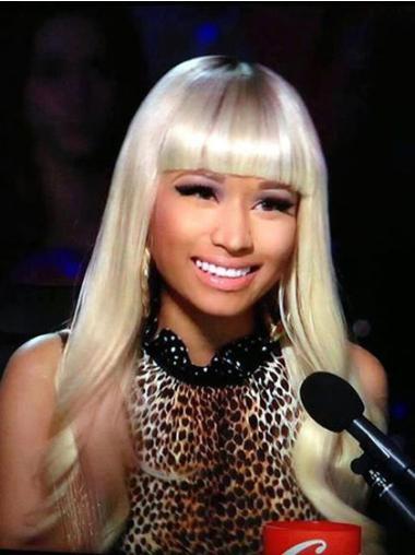 Top Blonde Wavy Long Nicki Minaj Wigs
