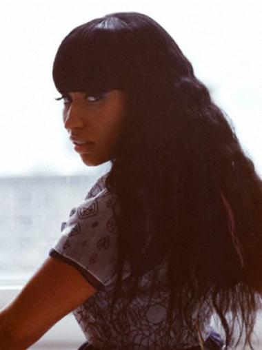 Online Black Wavy Long Nicki Minaj Wigs