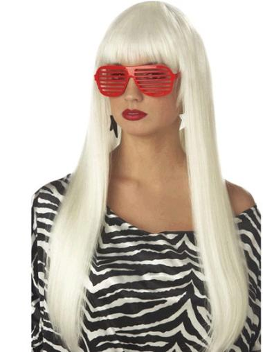 Style Straight Long Lady Gaga Wigs