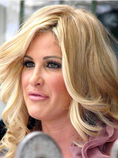 Exquisite Blonde Wavy Long Kim Zolciak Wigs