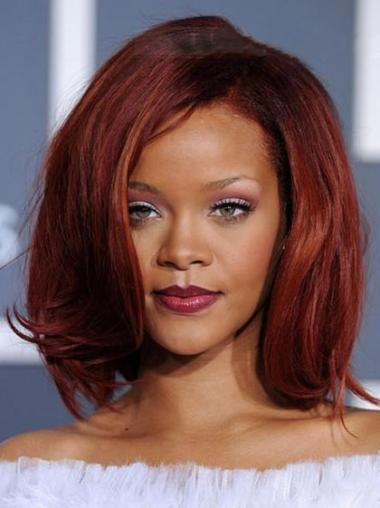 No-fuss Straight Chin Length Rihanna Wigs
