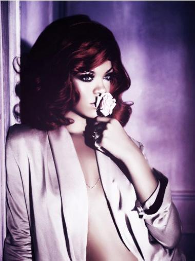 Modern Lace Front Wavy Shoulder Length Rihanna Wigs