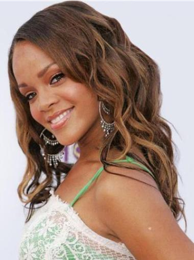 Hairstyles Lace Front Wavy Long Rihanna Wigs