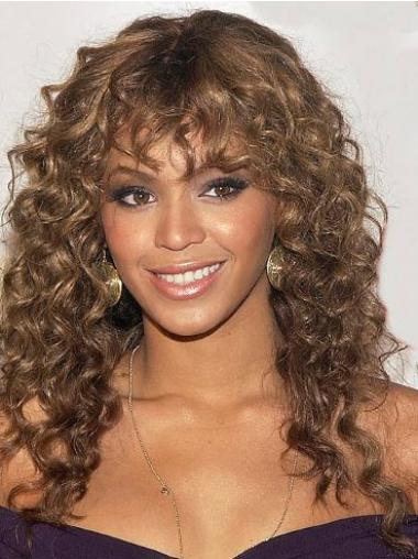 New Auburn Curly Long Beyonce Wigs