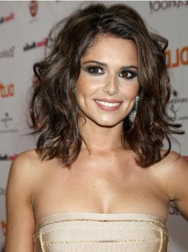Cosy Lace Front Wavy Shoulder Length Cheryl Cole Wigs