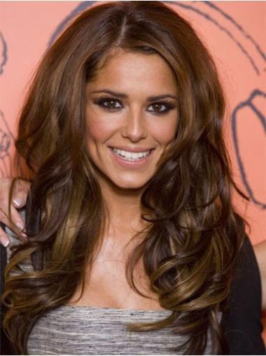 Pleasing Lace Front Wavy Long Cheryl Cole Wigs