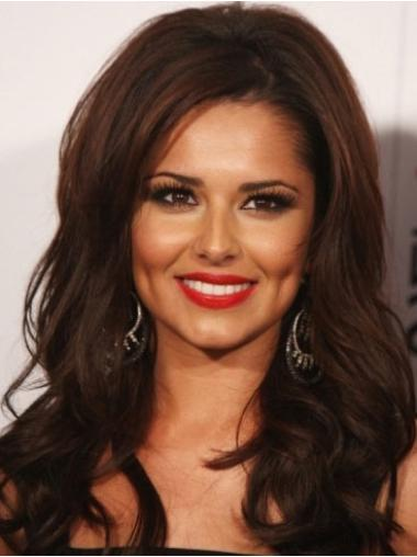 IncLace Frontible Auburn Wavy Long Cheryl Cole Wigs