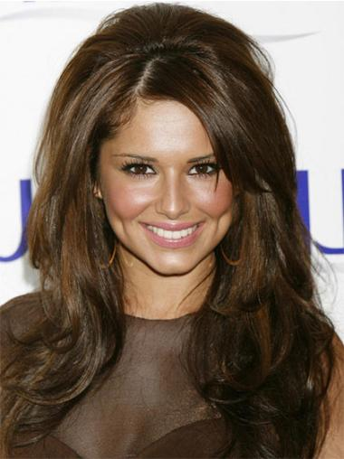 Refined Lace Front Wavy Long Cheryl Cole Wigs