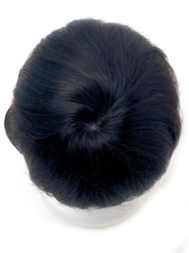 Faddish Black Lace Front Short Men Wigs