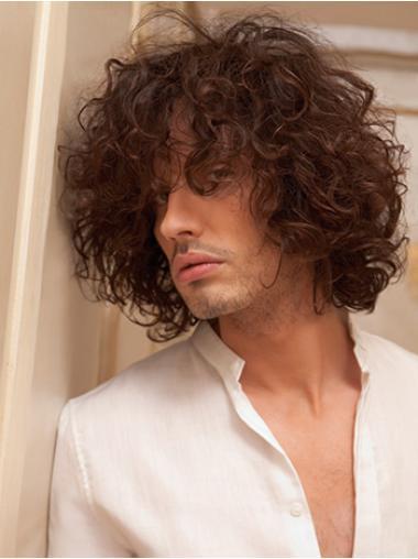Best Auburn Curly Short Men Wigs