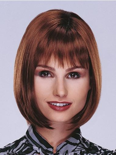 Amazing Monofilament Straight Chin Length Lace Front Wigs