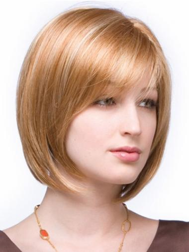Auburn Popular Lace Front Synthetic Medium Wigs