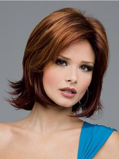 New Auburn Lace Front Chin Length Lace Wigs