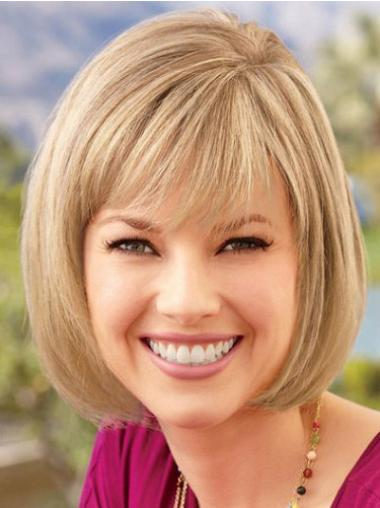 Good Blonde Lace Front Chin Length Lace Wigs
