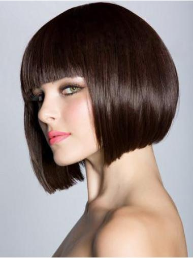 Fabulous Auburn Straight Chin Length Bob Wigs