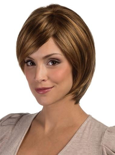 Best Lace Front Straight Chin Length Lace Wigs