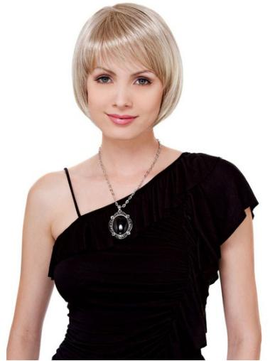 Online Blonde Lace Front Chin Length Petite Wigs