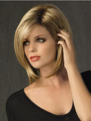 Online Blonde Lace Front Chin Length Lace Wigs