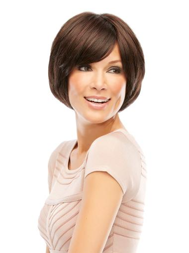 Lace Front Convenient Bobs Straight Short Wigs
