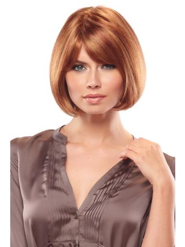 Top Synthetic Monofilament Straight Medium Wigs