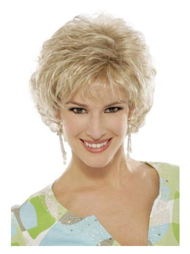 Braw Blonde Curly Short Classic Wigs