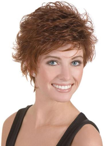 Lace Front Radiant Boycuts Wavy Short Wigs