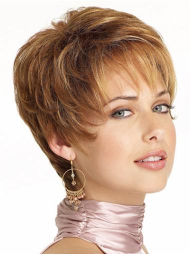 Lace Front Trendy Boycuts Wavy Short Wigs