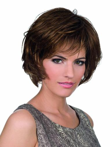 High Quality Lace Front Wavy Chin Length Lace Wigs