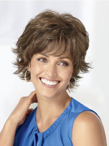Best Brown Wavy Short Classic Wigs