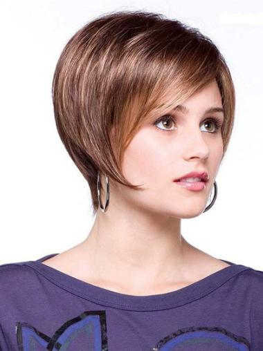 Lace Front New Bobs Straight Short Wigs